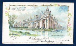 Saint-Louis. MO. World's Trade Fair 1904. Electricity Building. Official Post Card. Illustration C. Graham). 1903 - St Louis – Missouri
