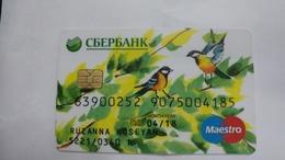 Russia-credict Card-(572)-(9075004185-406)-used Card+1 Card Prepiad Free - Geldkarten (Ablauf Min. 10 Jahre)