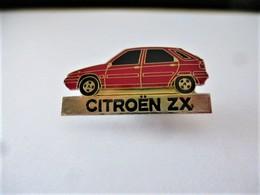 PINS CITROEN ZX  ROUGE  NEUF / 33NAT - Citroën