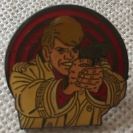 RIC HOCHET - PISTOLET - CORNER 125 - LOMBARD 1990 - TIBET - DUCHATEAU  -     (ROSE) - Comics