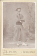 PHOTOGRAPHIE   J. BOURGEOIS  CONSTANTINE  :  UN   ZOUAVE - Uniforms