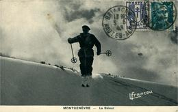 MONTGENEVRE Le Skieur Ed Lfrancou - France