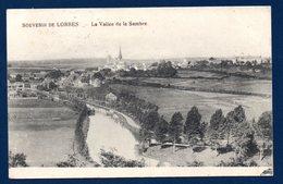 Lobbes. Souvenir De Lobbes. La Vallée De La Sambre. Collégiale Saint-Ursmer. Feldpost Der 14. Res. Div. Nov. 1915 - Lobbes