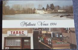 Petit Calendrier Poche 1994 Tabac Loto Chasse Pêche - Tournon Saint Martin Indre - Calendars