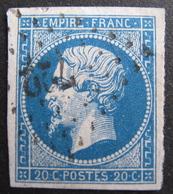 LOT R1752/151 - NAPOLEON III N°14A - PC 722 : CHAMPLITTE (Haute Saône) ☛ INDICE 5 - 1853-1860 Napoleon III