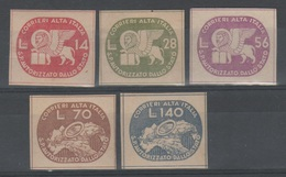 ITALIA 1945 - Luogotenenza - Coralit - Leone E Ruota       (g5226) - 5. 1944-46 Lieutenance & Umberto II