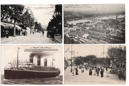 LOT  DE 48 CARTES  POSTALES  ANCIENNES  DIVERS  FRANCE  N47 - Cartes Postales