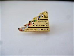 PINS  RUGBY 26 ème CHAMPIONNAT DU MONDE JUNIORS  FIRA FFR CRL / 33NAT - Rugby
