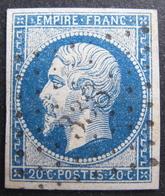 LOT R1752/153 - NAPOLEON III N°14B - PC 338 : BEDARIEUX (Hérault) ☛ INDICE 3 - 1853-1860 Napoleon III