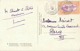 GUADELOUPE - POINTE A PITRE - 21 AVRIL 1939 - 40c SEUL SUR LETTRE POUR PARIS - Guadeloupe (1884-1947)
