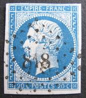 LOT R1752/156 - NAPOLEON III N°14A - PC 818 : LA CHATRE (Indre) ☛ INDICE 3 - 1853-1860 Napoleon III
