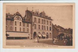 BEAUCOURT - TERRITOIRE DE BELFORT - PLACE CENTRALE - Beaucourt