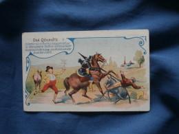 Chromo Chocolat De Royat  Don Quichotte N° 9 - L376 - Chocolat