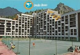 ISOLA 2000/LES COURS DE TENNIS DEVANT LES IMMEUBLES (dil360) - Frankrijk
