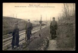 GUERRE 14/18 - ENVIRONS DE LUNEVILLE (MEURTHE-ET-MOSELLE) - TOMBE D'UN SOLDAT FRANCAIS - Guerre 1914-18