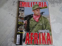 ARMES MILITARIA MAGAZINE N°300. CASQUETTE AFRIKA - Uniforms