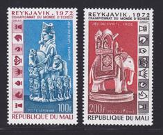MALI AERIENS N°  172 & 173 ** MNH Neufs Sans Charnière, TB (D6764) Championnats Du Monde D'échecs - Mali (1959-...)