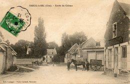CPA - Environs De CLERMONT (60) - BREUIL-le-SEC - Aspect Du Quartier Du Château En 1913 - Autres Communes