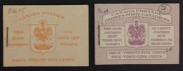Canada (1950) - Booklets 45b + 46b - Otros