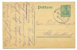 Allemagne - Entier 5pf De Aachen Vers Herbesthal (Belgique)  16 Oct 1914 - Guerre 14-18