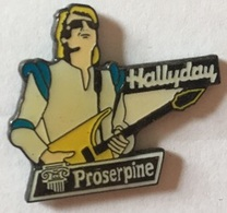 JOHNNY HALLYDAY - PROSERPINE VIDEO - GUITARE    -        (ROSE) - Celebrities