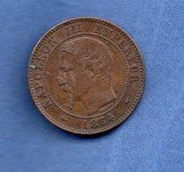 Napoleon III  -  2 Centimes 1854 A  --  état  TTB - B. 2 Centimes
