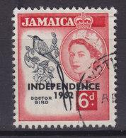 Jamaica 1962 Mi. 188     6 C. Königin Queen Elizabeth II.Overprint Aufdruck INDEPENDENCE 1962 - Jamaica (1962-...)