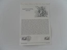 FRANCE DOCUMENT 45-82 YT 2230 GUSTAVE EIFFEL - Documentos Del Correo