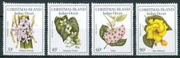 1986 Christmas Island Orchidèe Orchids Orchidées Flowers Blumen Fleurs MNH** Ye97 - Christmas Island
