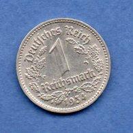 Allemagne  -  1 Reichsmark  1934 D  -- Km # 78 -  état  TTB+ - [ 4] 1933-1945 : Third Reich