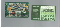 ROMANIA (ROMANIA) - 1993 EMCOM  - USED  -  RIF. 10747 - Romania