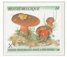 D- [153140] **/Mnh-[2420] Belgique 1991, Végétaux, Champignon, Bolet à Pied Rouge, Du Carnet 21, SNC - Champignons