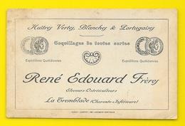 René EDOUARD Frères La Tremblade (17) Huitres Ostreiculteurs Carte De Visite - Visiting Cards