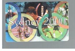 ROMANIA (ROMANIA) - 2000  OLYMPIC GAMES, SIDNEY - USED  -  RIF. 10755 - Romania