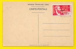 BRAZZAVILLE Arrivée Charles De Gaulle 1940 S.A. Litho Ltd Capetown) Congo - Brazzaville