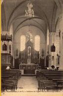 Montautour Intérieur De L'église - France