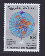 MAROC N°  654 ** MNH Neuf Sans Charnière, TB (D6775) Organisation Météorologique - Marokko (1956-...)