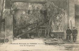 Vonges (21 - Côte D'Or) Explosion De La Poudrerie - Lieu De L'explosion - France
