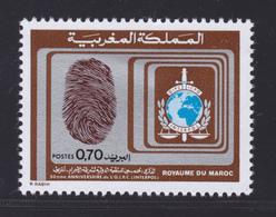 MAROC N°  686 ** MNH Neuf Sans Charnière, TB (D6777) Interpol - Morocco (1956-...)
