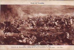 HISTOIRE . MUSEE DE VERSAILLES . Bataille De REISCHOFFEN Charge Des 8e Et 9e CUIRASSIERS GUERRE DE 1870 Par MOROT - Historia