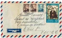 Lettre D' ISTANBUL Pour La France 1950. - 1921-... Republic