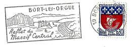 France (1967) - Bort-les-Orgues : Orgues Basaltiques / Basalt Columns. Lave / Lava. Basalte Phonolite. Barrage / Dam. - Volcanes