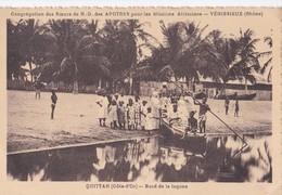 Carte 1930 CONGREGATION DES SOEURS DE VENISSIEUX MISSIONS A QUITTAH / BORD DE LA LAGUNE - Ghana - Gold Coast