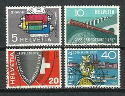 Suiza. 1957. Serie De Propaganda. - Sellos