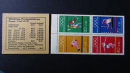 Germany - 1972 - Mi:DE MH17, Yt:DE C586**MNH - Booklet - Look Scans - [7] Federal Republic