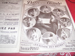 XAVIER PRIVAS FRANCINE LOREE /PARIS QUI CHANTE - 1900 - 1949