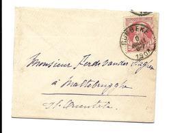 Visitekaartje  10 Ct  RUMBEKE 1907 - Otros