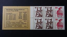 Germany - 1972 - Mi:DE MH16, Yt:DE C564**MNH - Booklet - Look Scans - [7] Federal Republic