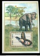 STAMPS FROM ZAMBIA MINT N H SCOTT # 870  BUTTERFLIES  ANIMALS - Zambia (1965-...)