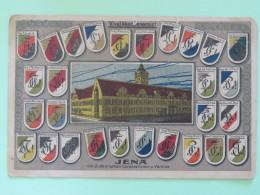 "Germany Around 1920 Unused Postcard """"Jena Arms"""" - Germany"